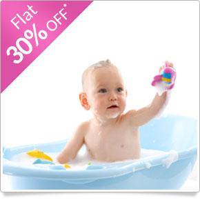 firstcry.com - Get Flat 30% OFF on Bath & Skin Range