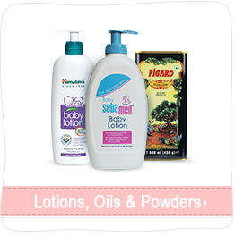 Lotions, oils & Powders