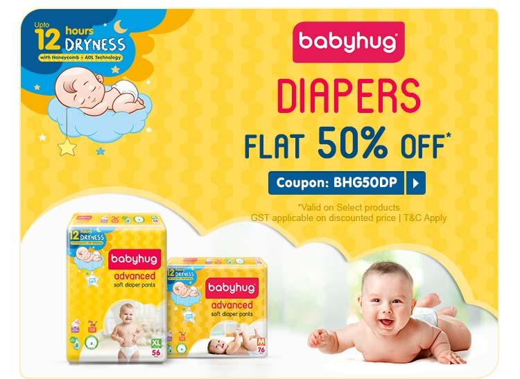Babyhug - DIAPERS FLAT 50% OFF*