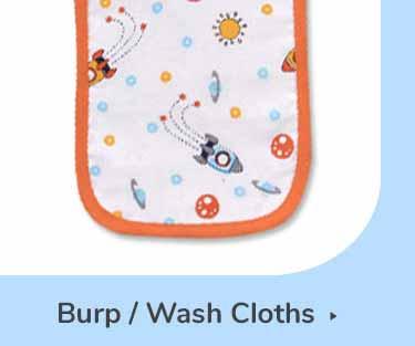BURP/WASH CLOTHS
