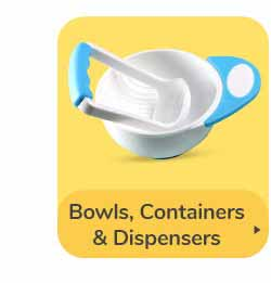 BOWLS, CONTAINERS & DISPENSERS