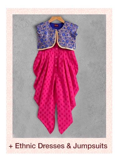 Ethnic Dresses & Jumpsuits