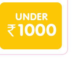 Under ₹ 1000