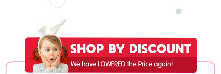 Shop by DISCOUNT