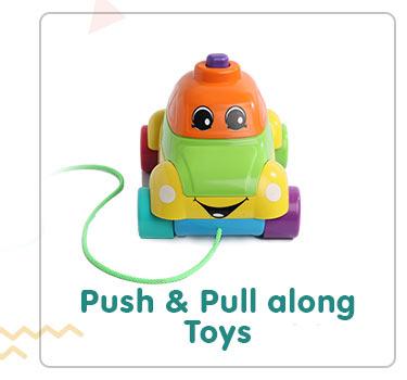 Push & Pull Along Toys