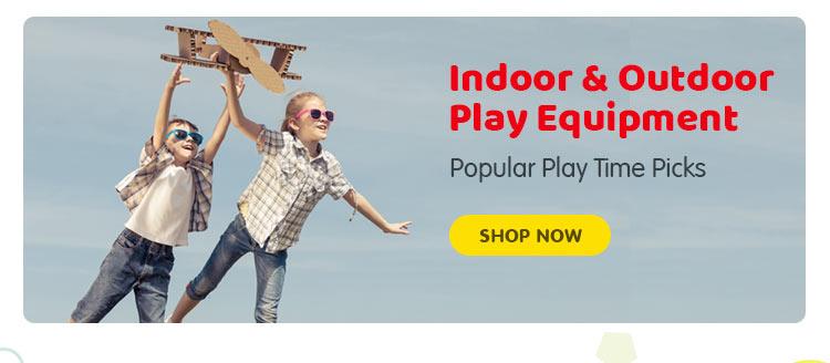 Indoor & Outdoor Play Equipment