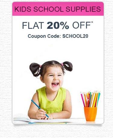 Kids School Supplies Coupons
