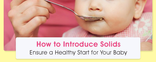Introducing Solid Food to Babies