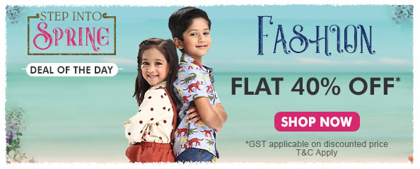 firstcry - Avail 40% OFF on Kids Fashion apparels and accessories