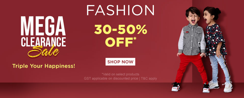 firstcry.com - Avail 50% OFF on Select fashion products
