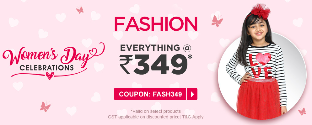 firstcry.com - Selected Fashion under ₹349