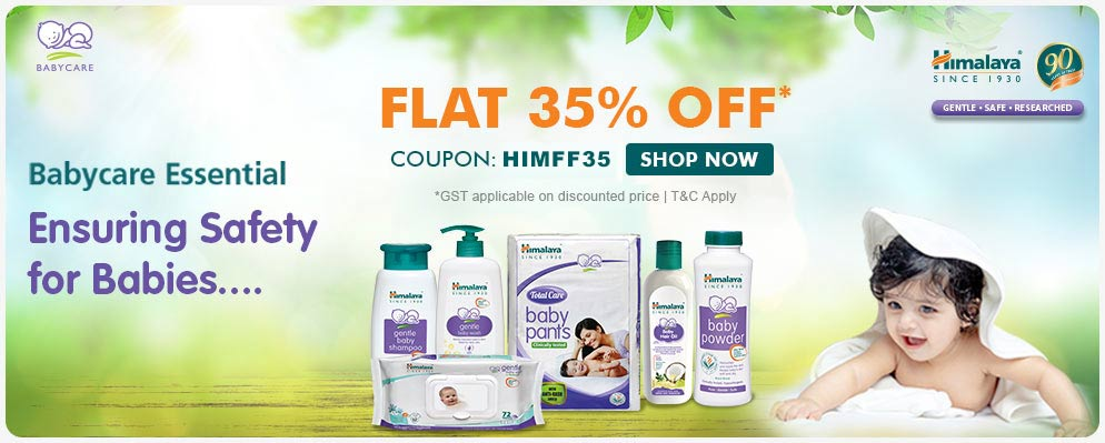 firstcry.com - Get Flat 35% Off on Himalaya Baby Care