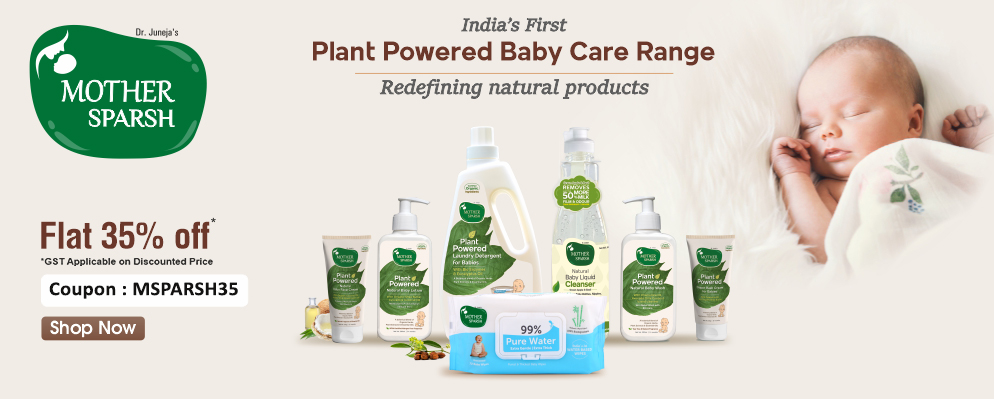 firstcry.com - Flat 35% discount on Mother Sparsh range