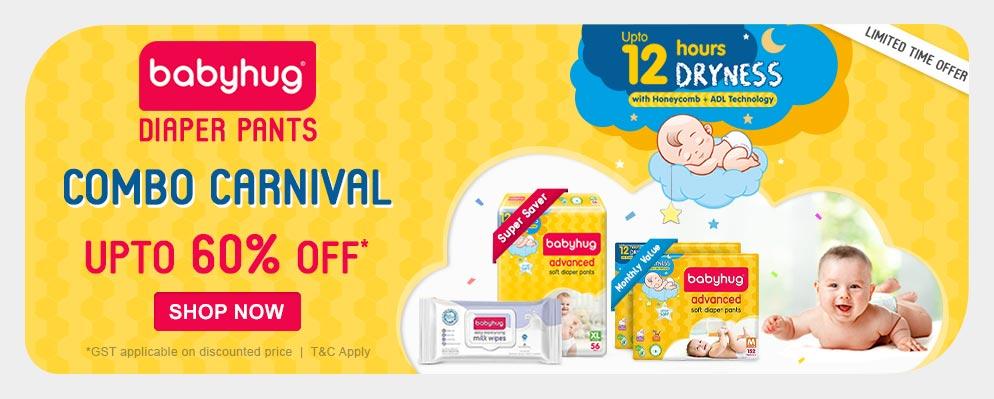 firstcry.com - Babyhug Combo Carnival – Avail Upto 60% Off on Babyhug Products