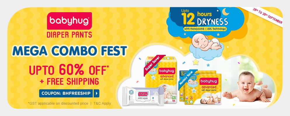 firstcry.com - Get Up to 60% OFF + Free Shipping on Babyhug Diaper Pants
