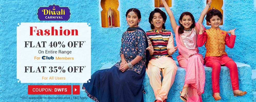 firstcry.com - Avail 35% Discount on Entire Fashion Range