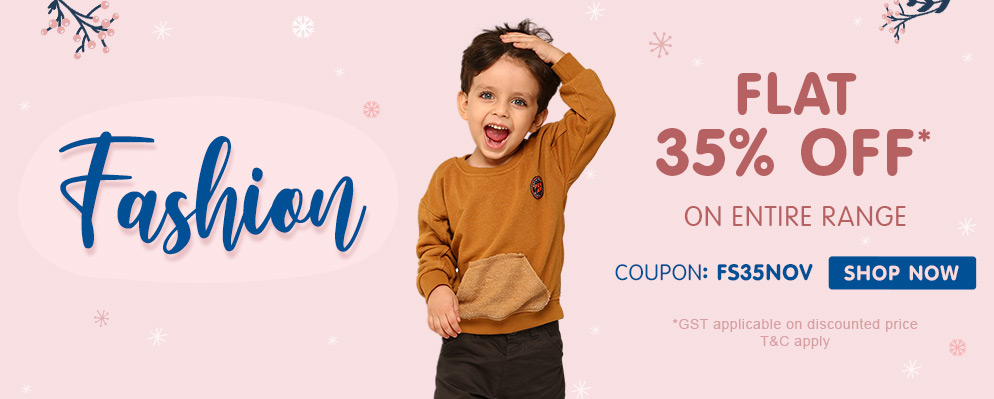 firstcry.com - Avail 35% off on Fashion Products