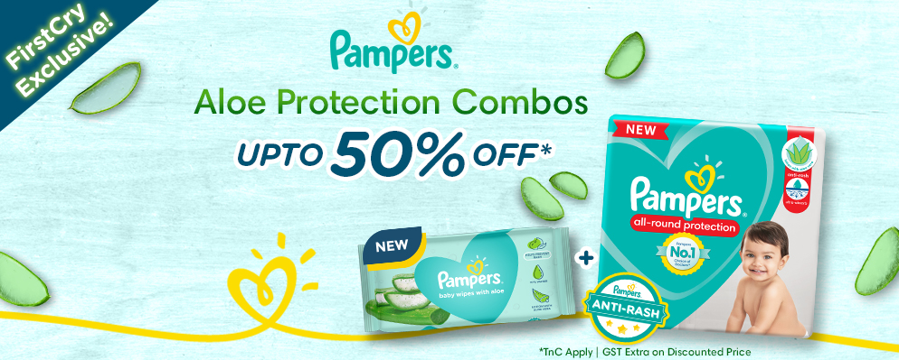 firstcry.com - Upto 50% off on Pampers Skin Safe Combo