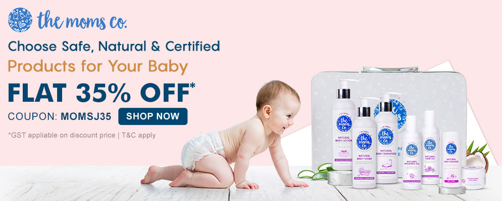 firstcry.com - Get 35% Discount on Moms-co Baby Care