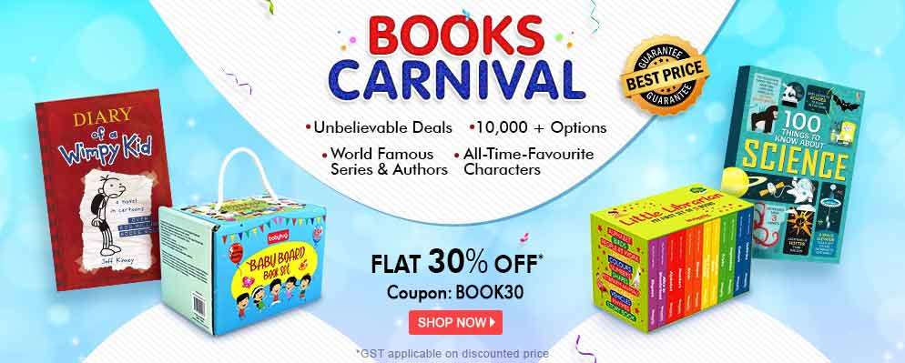 firstcry.com - Avail 30% Discount on Selected Books Range