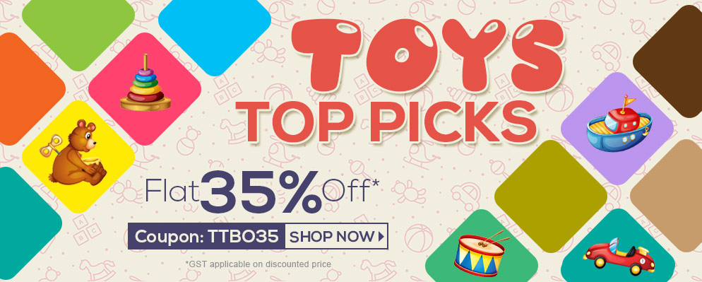 firstcry.com - 35% Discount on Entire Toys and Books Range