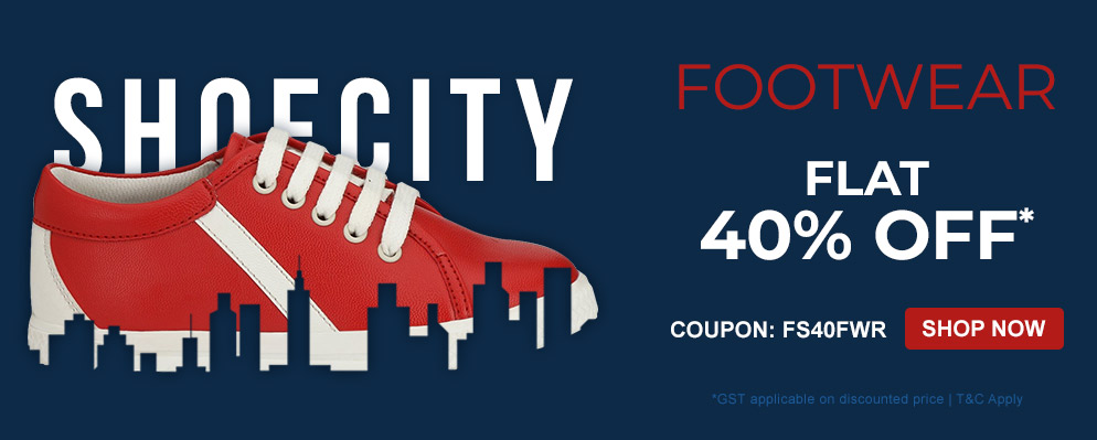 Firstcry Offers & Discount Sale - Get Flat 40% OFF on Select Footwear