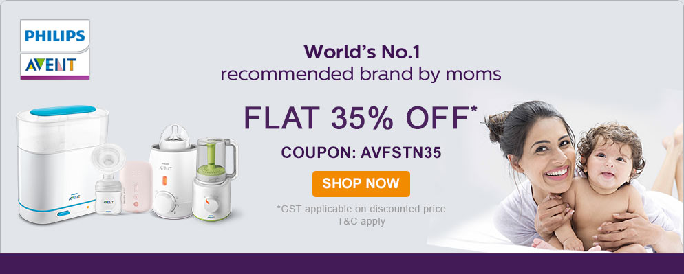 firstcry.com - 35% Off on Entire Phillips Avent Range