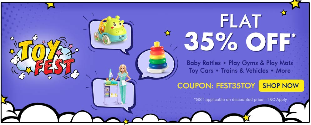 Firstcry Offers & Discount Sale - 35% Discount on Kids Toys