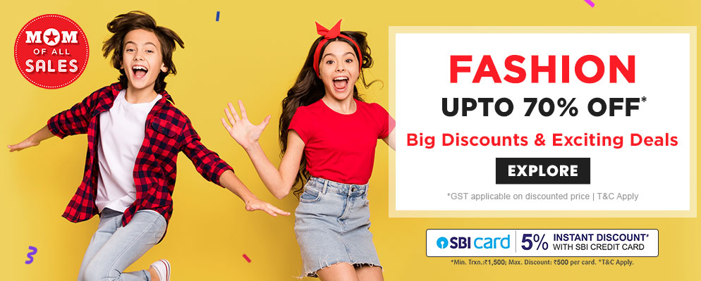 firstcry.com - Mom Of All Sale – Up to 70% Discount on Kids Fashion