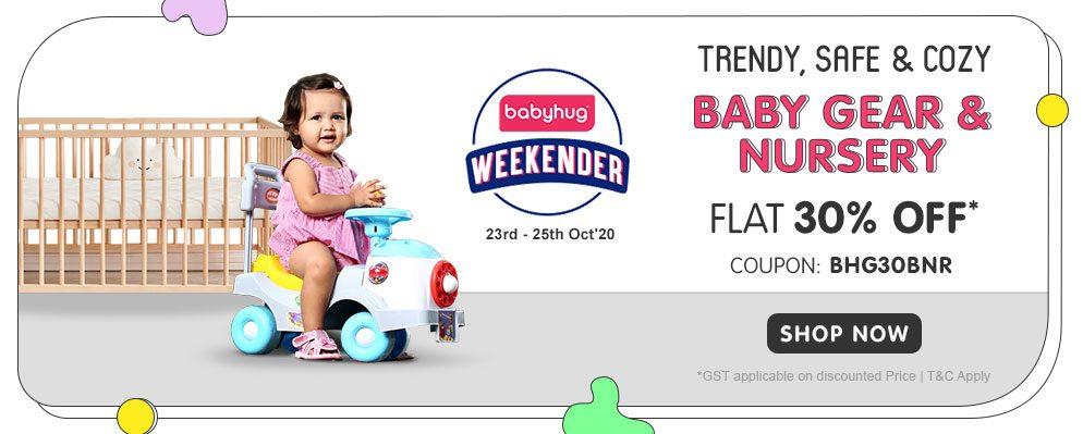 FirstCry - 30% OFF on Entire Baby Gear & Nursery Range