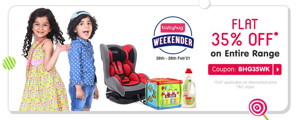 firstcry.com - Get Flat 35% discount on Entire Babyhug Range
