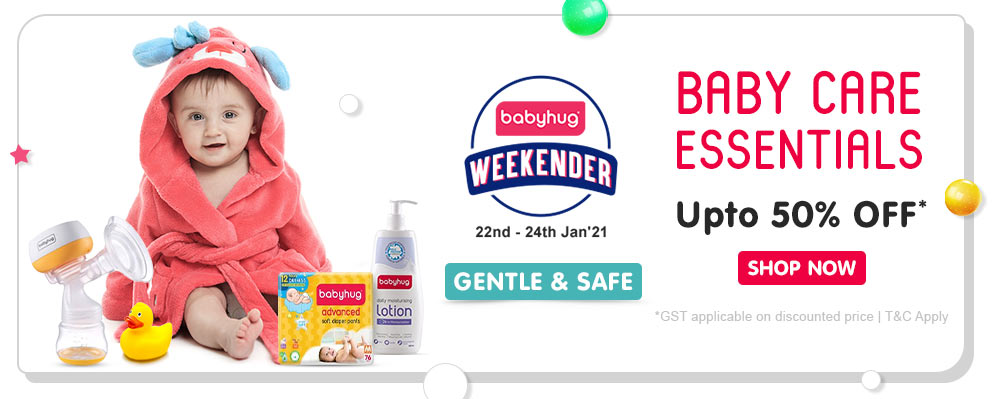 Firstcry Offers & Discount Sale - Get Upto 50% off on Baby Care Essentials