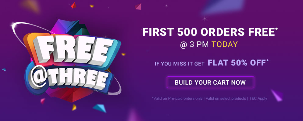firstcry.com - Avail 50% OFF on most products(On Pre-paid orders only)