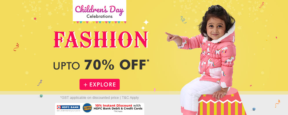 firstcry.com - Children's Day Celebration – Get Additional 10% Discount on all products