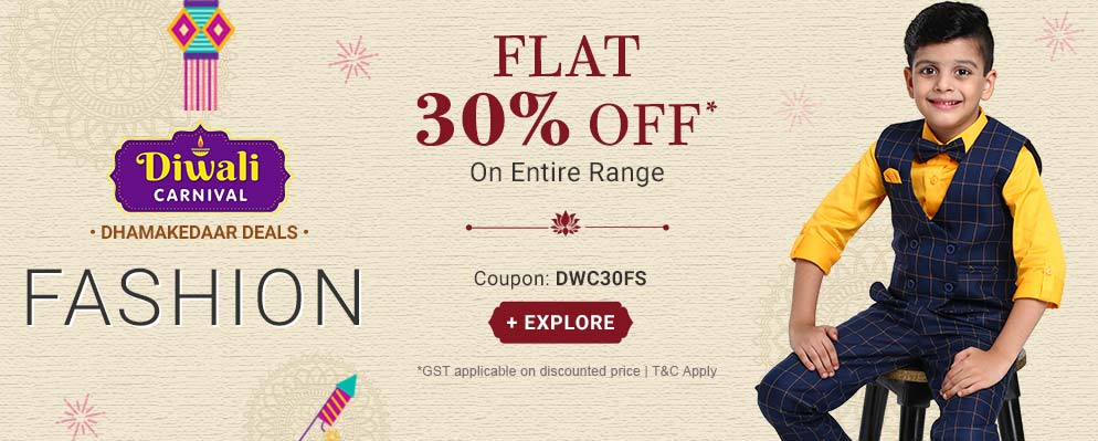 Firstcry - Get 30% Discount on Kids Fashion
