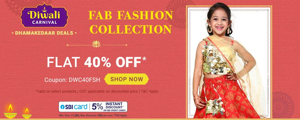 firstcry.com - Get Flat 40% OFF on Fab Fashion Collection