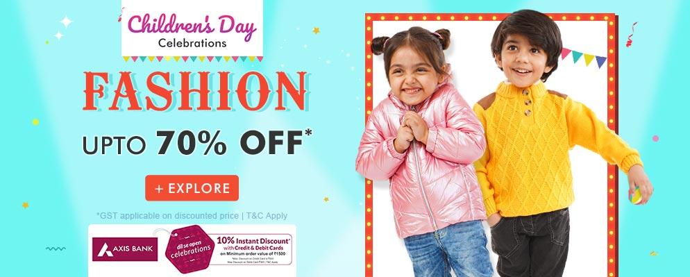 firstcry.com - Flat 10% Off on Kids Fashion