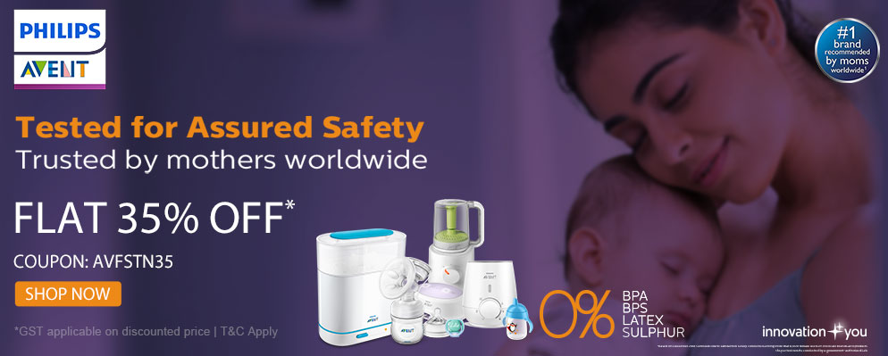 firstcry.com - Get 35% discount on Entire Phillips Avent Range