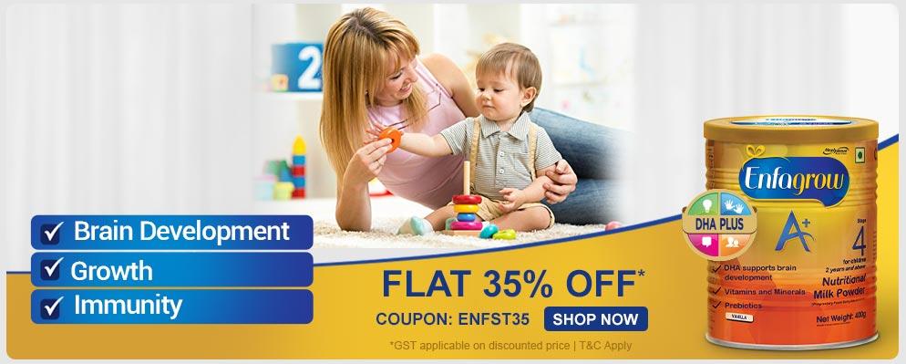 firstcry.com - 35% off on Enfagrow baby care range Range