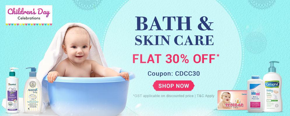 FirstCry.com - 30% Off on Bath & Skin Care