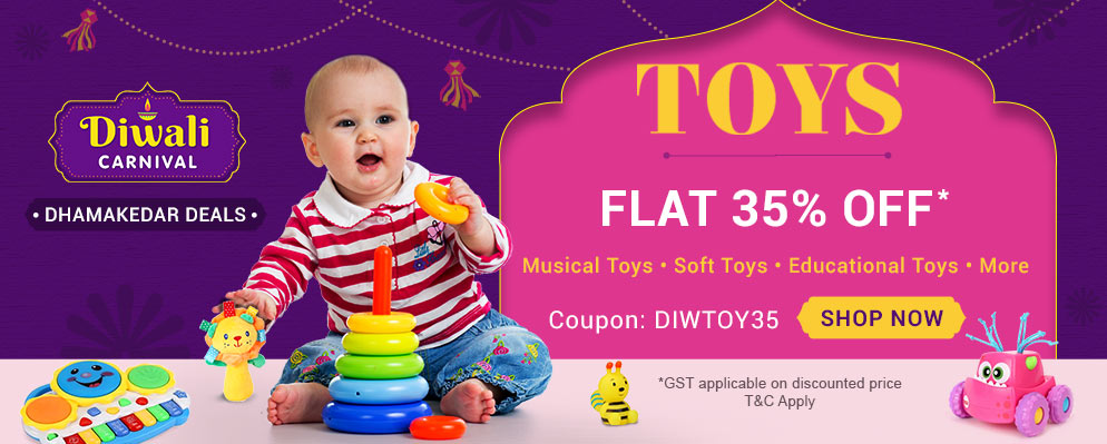firstcry.com - 35% discount on Entire Toys Range