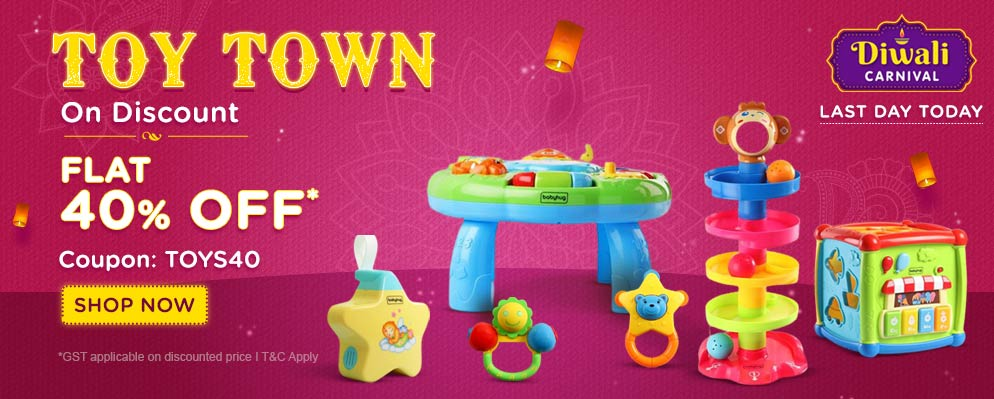 firstcry.com - Get 40% off on Entire Toys Range