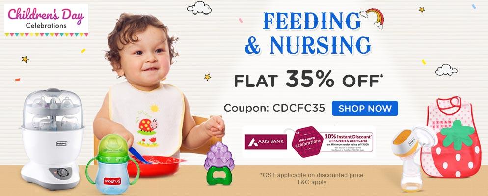 FirstCry.com - Get Flat 35% discount on Entire Baby Gear,Nursery, Toys, Feeding & Health & Safety Range