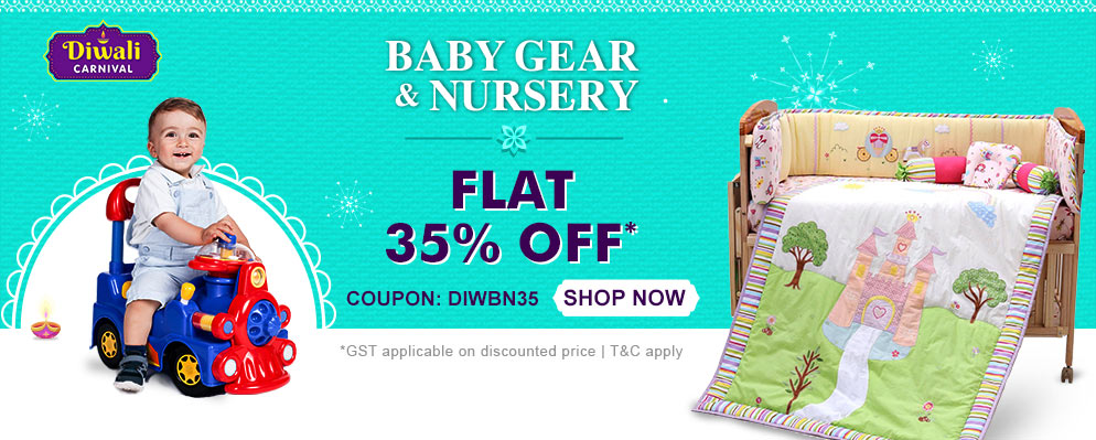 firstcry.com - Avail 35% discount on Entire Baby Gear & Nursery Range