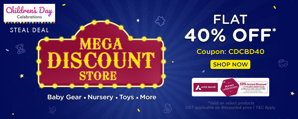 FirstCry.com - Get Flat 40% Off on Select Products