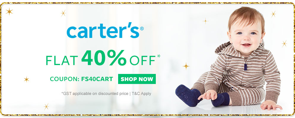 FirstCry - 40% OFF on Carter's Baby & Kids Clothing
