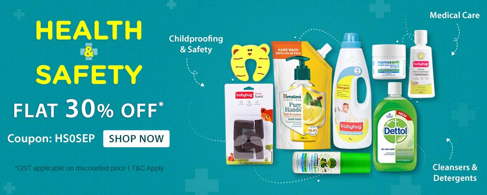 firstcry.com - 30% off on Baby Proofing products & Kids Safety Accessories