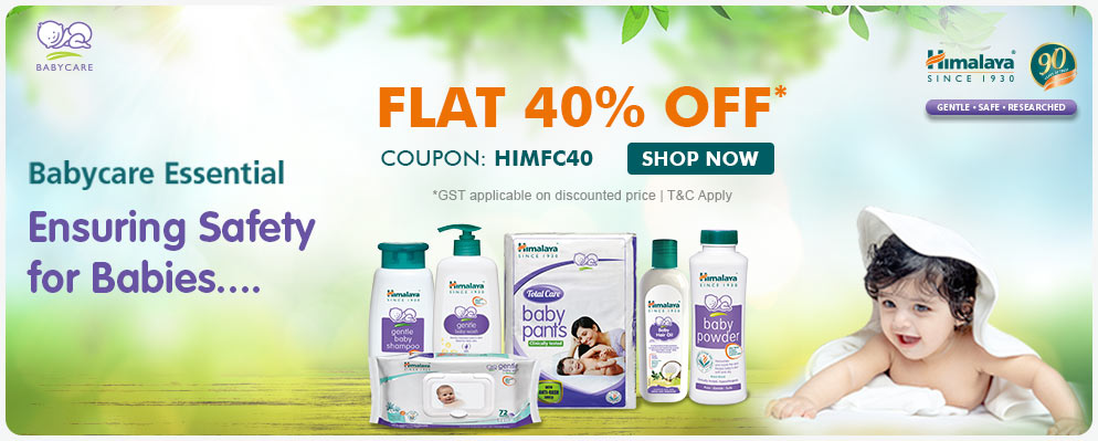 firstcry.com - Avail 40% Off on Himalaya Baby Care