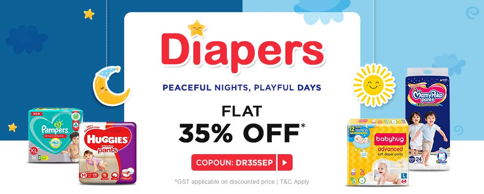 firstcry.com - Get 35% OFF on Diapers