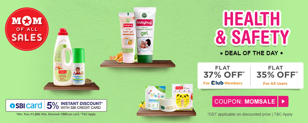 firstcry.com - Avail 35% Off on Health and Safety Products